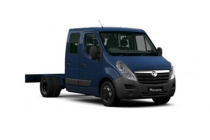 Vauxhall Movano Chassis Cab F35 L3 2.3 CDTi BiTurbo FWD 150PS  Chassis Cab Manual [Start Stop]