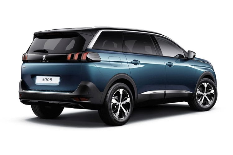 Peugeot 5008 SUV 1.5 BlueHDi 130PS Allure Premium 5Dr Manual [Start Stop] back view