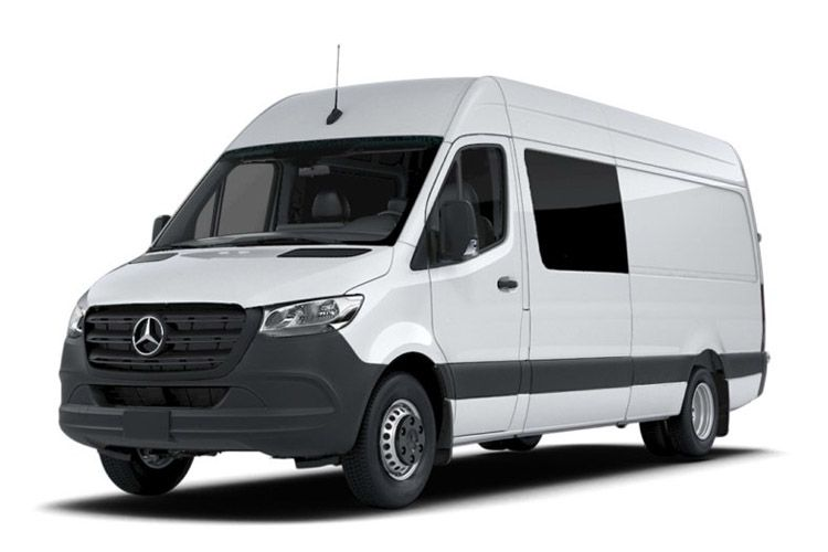Mercedes-Benz Sprinter 319 L3 3.5t 3.0 CDi V6 RWD 190PS  Crew Van ExHighRoof Manual [Start Stop] back view