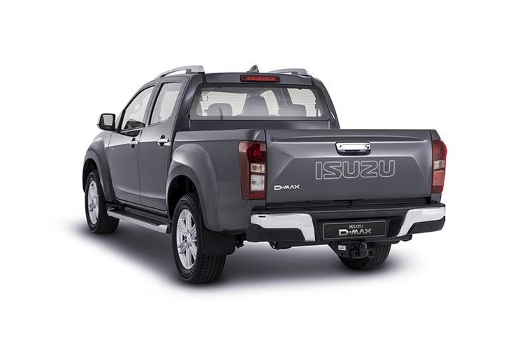 Isuzu D-MAX Pick Up Double Cab 4wd 1.9 TD 4WD 164PS Yukon Pickup Double Cab Manual back view