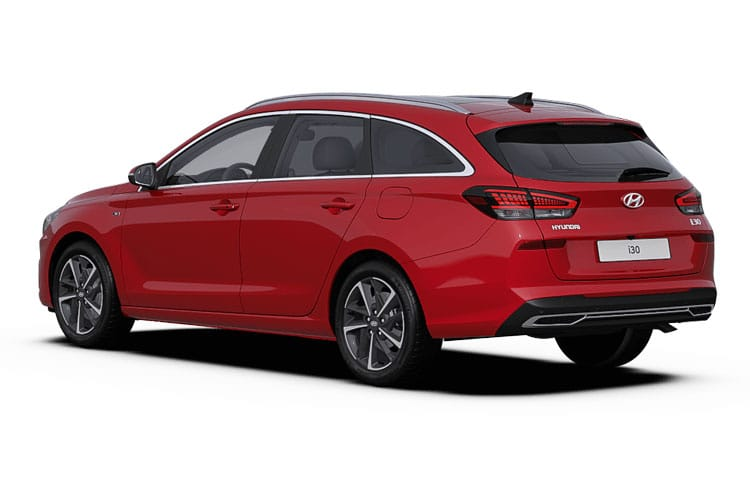 Hyundai i30 Tourer 1.4 T-GDi 140PS Premium SE 5Dr Manual [Start Stop] back view