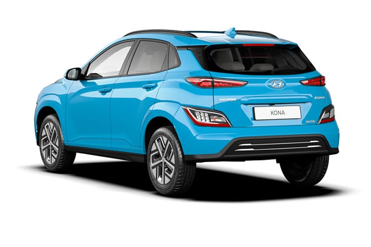 Hyundai KONA SUV Elec 64kWh 150KW 204PS Premium SE 5Dr Auto [7kW Charger] back view
