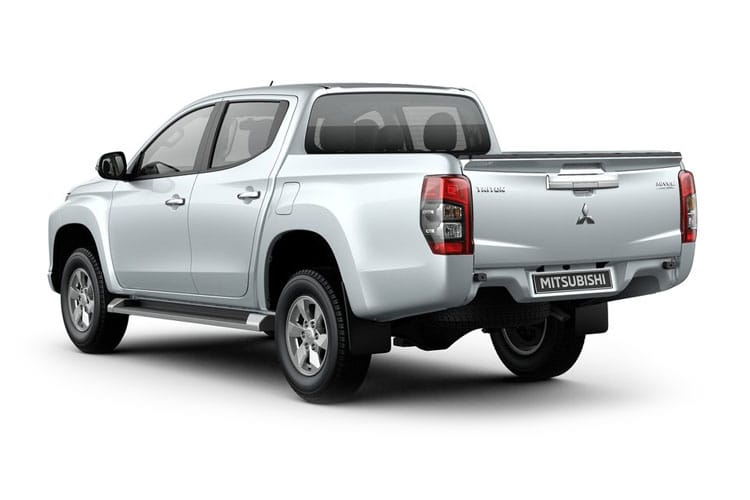 Mitsubishi L200 Pick Up Double Cab 4wd 2.2 DI-D 4WD 150PS Barbarian Pickup Double Cab Auto [Start Stop] back view