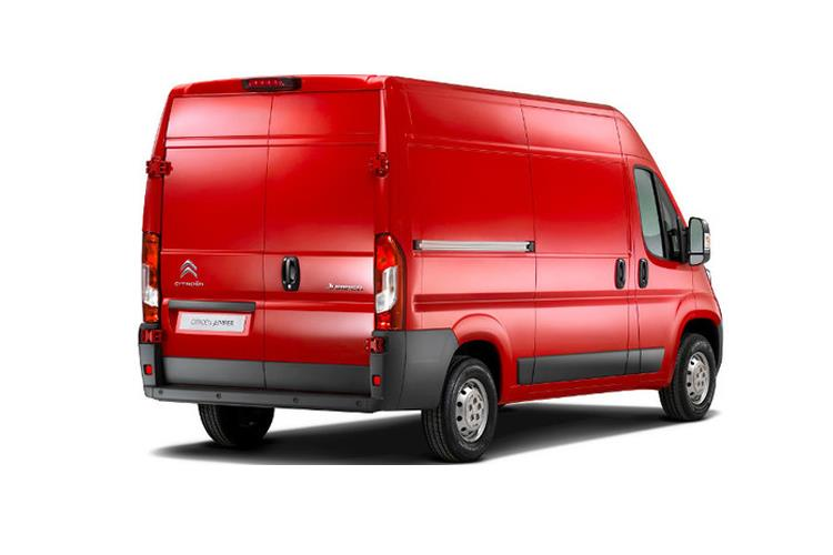 Citroen Relay 35 Heavy L3 2.2 BlueHDi FWD 140PS Worker Van High Roof Manual [Start Stop] back view