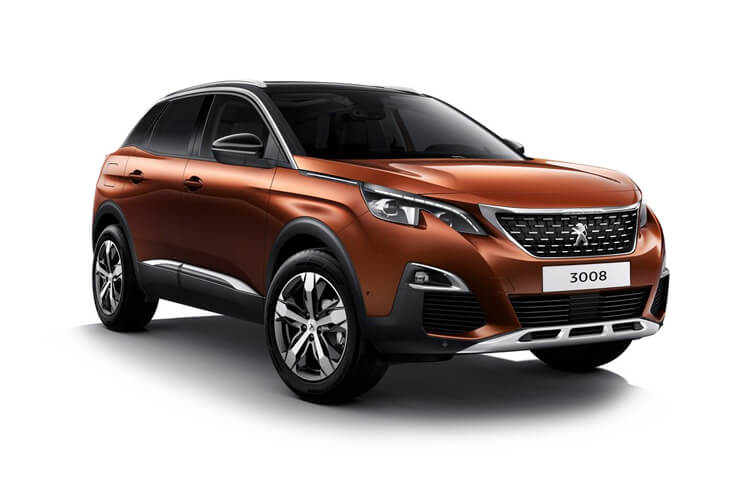 Peugeot 3008 SUV 1.2 PureTech 130PS GT 5Dr EAT8 [Start Stop] front view