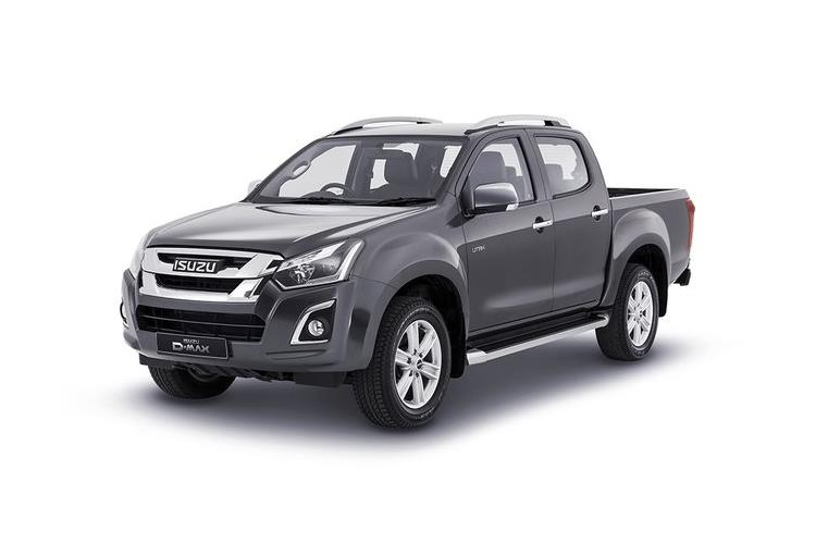 Isuzu D-MAX Pick Up Double Cab 4wd 1.9 TD 4WD 164PS DL20 Pickup Double Cab Auto [Start Stop] front view