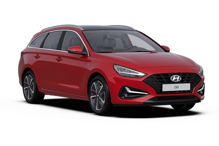 Hyundai i30 Tourer 1.4 T-GDi 140PS Premium SE 5Dr Manual [Start Stop] front view