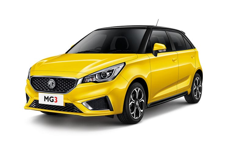 MG Motor UK MG3 Hatch 5Dr 1.5 VTi-TECH 106PS Exclusive Nav 5Dr Manual [Start Stop] front view