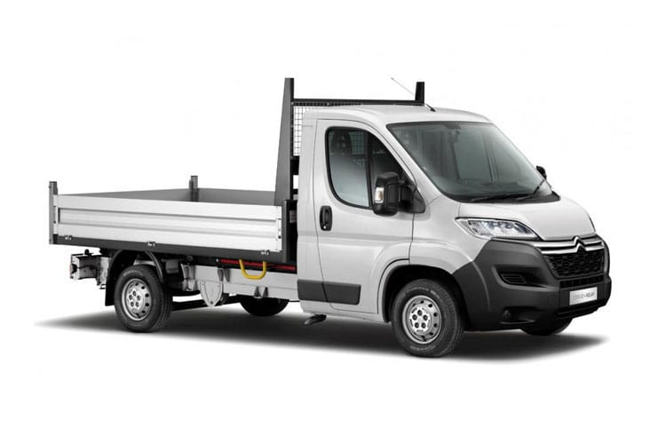 Citroen Relay 35 L2 2.2 BlueHDi FWD 165PS Ready to Run Plus Tipper Manual [Start Stop] front view