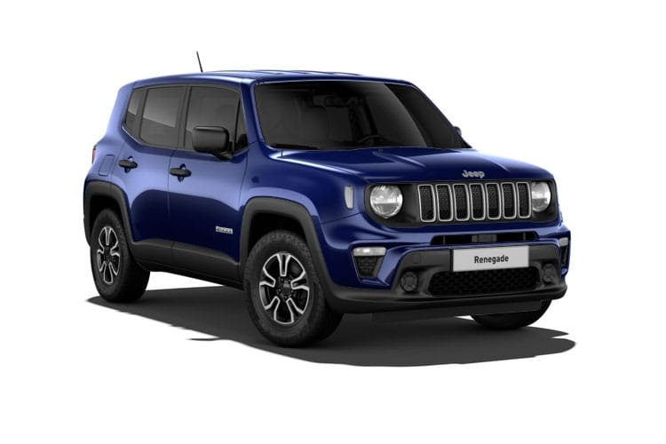 Jeep Renegade SUV 1.3 GSE T4 150PS Longitude 5Dr DDCT [Start Stop] front view