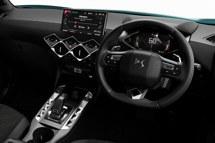 DS Automobiles DS 3 Crossback 5Dr 1.2 PureTech 130PS Performance Line 5Dr EAT8 [Start Stop] inside view