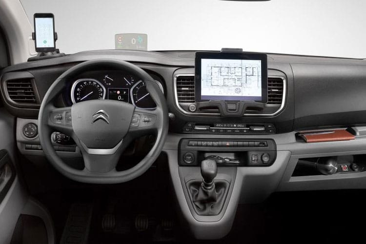 Citroen Dispatch M 1400Kg 2.0 BlueHDi FWD 120PS Worker Van Manual [Start Stop] inside view