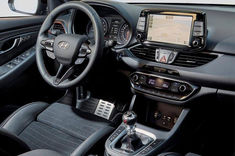 Hyundai i30 Hatch 5Dr 1.4 T-GDi 140PS N Line + 5Dr DCT [Start Stop] inside view