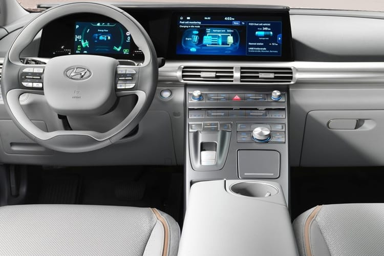 Hyundai Nexo SUV 0.0 Fuel Cell 163PS Premium SE 5Dr Auto inside view