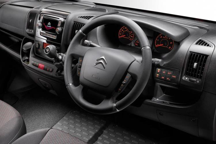 Citroen Relay 35 Heavy L3 2.2 BlueHDi FWD 140PS Worker Van High Roof Manual [Start Stop] inside view