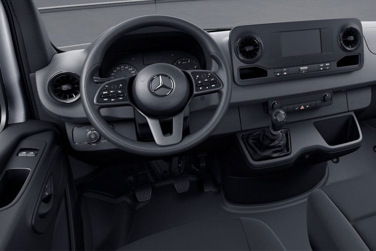 Mercedes-Benz Sprinter 311 L2 3.5t FWD 2.1 CDi FWD 114PS  Dropside G-Tronic inside view