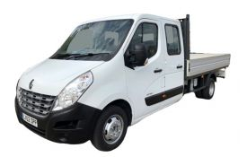 Renault Master Dropside Double Cab LWB 35 FWD 2.3 dCi ENERGY FWD 150PS Business Dropside Double Cab Manual [Start Stop]