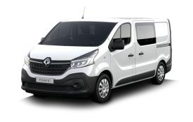 Renault Trafic Crew Van 30 LWB 2.0 dCi ENERGY FWD 120PS Business Crew Van Manual [Start Stop]