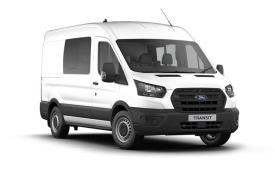 Ford Transit Crew Van 350 L3 RWD 2.0 EcoBlue MHEV RWD 130PS Leader Crew Van High Roof Manual [Start Stop] [DCiV]